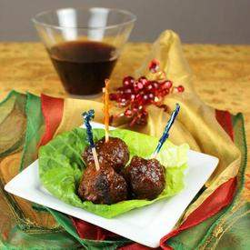 Holiday Meatballs (AKA Grape Jelly Meatballs)