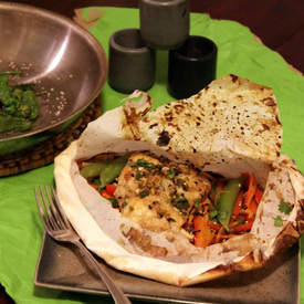 Fish en Papillote Asiatique