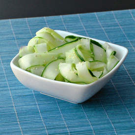 Crisp Cucumber Salad Recipe