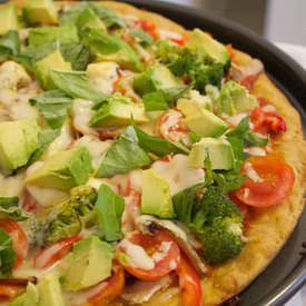 Easy Vegetarian Pizza