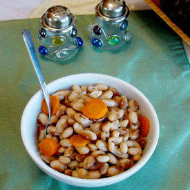 Heirloom Yellow Eyed Peas