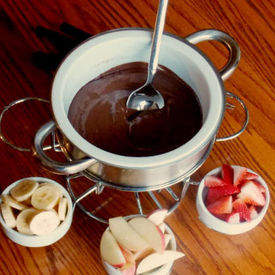 Clean Eating Chocolate Fondue