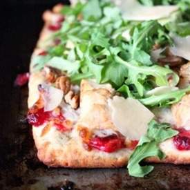 Chicken and Cranberry Pizza