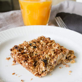 Healthy Vegan Snack Bars