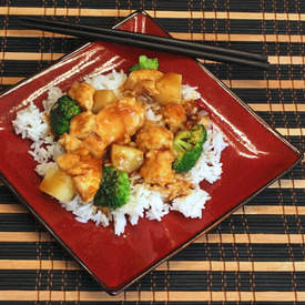 Lighter Asian Chicken Stir Fry
