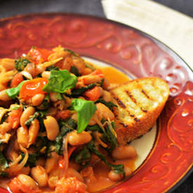 White Bean and Swiss Chard Ragout