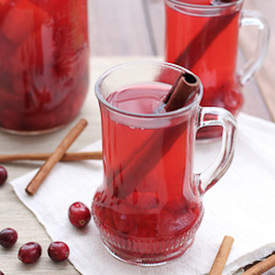 Spiced Cranberry Apple Punch