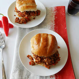 Lentil Quinoa Sloppy Joe