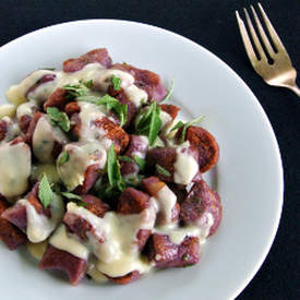 Purple Sweet Potato Gnocchi