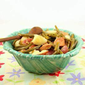 Southern-Style Green Beans with Potatoes