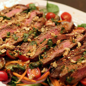 Spicy Thai Inspired Steak Salad