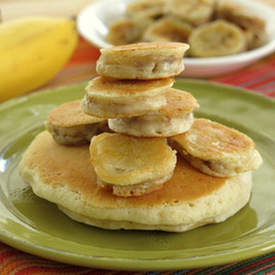 Pancake Battered Bananas