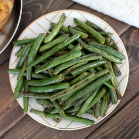 Dad's Spicy Green Beans