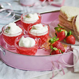 Strawberries and Cream Tea Party