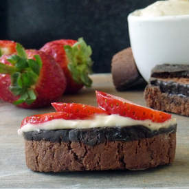 Strawberry Dessert Bruschetta