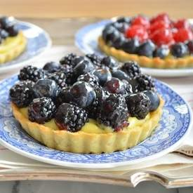 Mixed-Berry Tarts