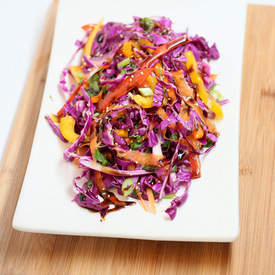 Colorful Cabbage Salad