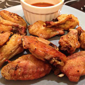 Oven Baked Seasoned Chicken Wings
