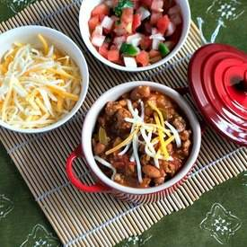 Low Calorie Turkey Chili