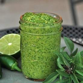 Thai Basil Pesto
