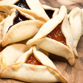 Hamentashen (Buttery Jam Filled Triangle Cookies)