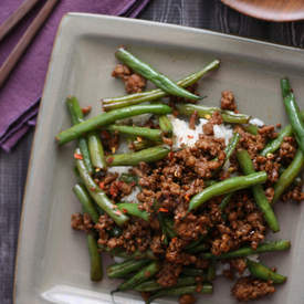 Szechuan Green Beans w/ Ground Pork