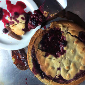 Gluten Sugar Free Triple Berry Pie
