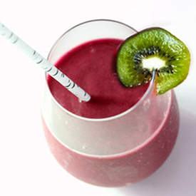 Rasberry Kiwi Fruit Smoothie
