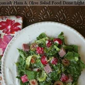 Spanish Salad with Ham & Olives