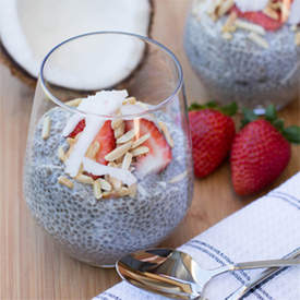 Coconut and Vanilla Chia Pudding