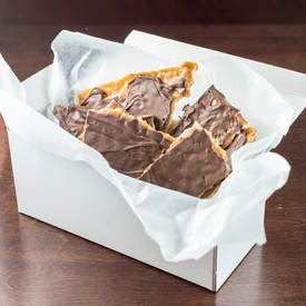 Addictive Chocolate Toffee Matzah Candy