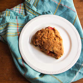 Strawberry, Lemon and Ginger Scones