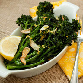 Broccolini with Toasted Garlic