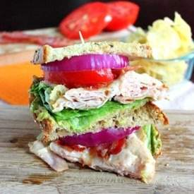 Turkey Melt Sandwich