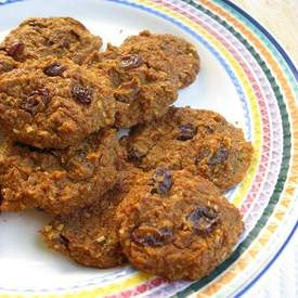 Raisin Carrot Cookies