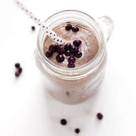 Honey & Wild Blueberry Smoothie