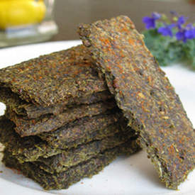 Kale Crackers