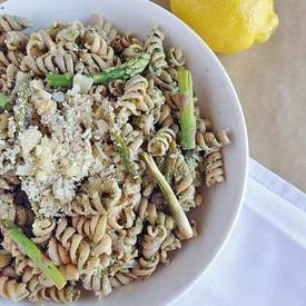 Fusilli with Arugula Pesto