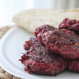 Beef and Beetroot Patties