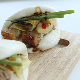 Pork Buns (Gua Bao) with Crisp Pork Belly