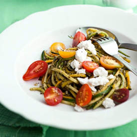 Pasta with Zucchini and Summer Squash