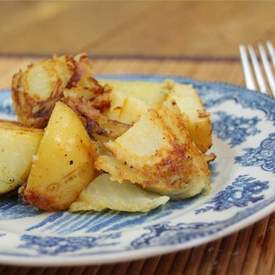 Crispy Potatoes and Fennel