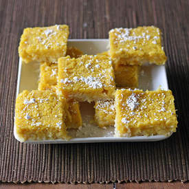 Coconut-Lemon Bars (Gluten-free)