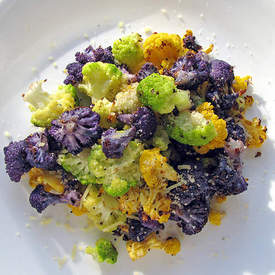 Tri-colored Cauliflower