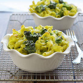 Vegan Green Mac & Cheese