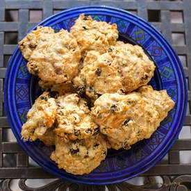 Carrot & Raisin Spice Cookies
