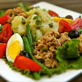 Julia Childs Salade Nicoise