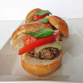 Bruschetta Burger Sliders