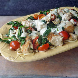 Chicken Florentine Pasta Recipe