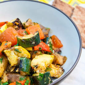Mechouia: Tunisian Grilled Vegetables